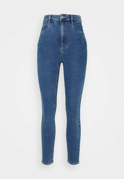 Cotton On - ULTRA HIGH SUPER STRETCH - Skinny-Farkut - coogee blue