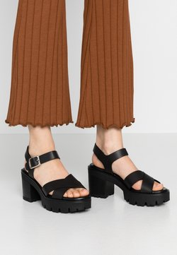 mtng - SABA - Sandalen met hoge hak - black