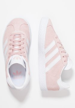 adidas Originals - GAZELLE C - Baskets basses - icepink/footwear whitet/gold metallic