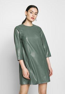 Weekday - MERAL DRESS - Freizeitkleid - dark dusty green