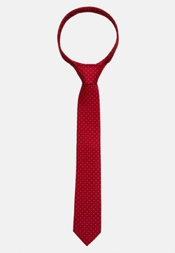 Calvin Klein - DOT TIE  - Krawatte - red