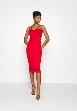 WAL G. - TYLER BODYCON DRESS - Cocktailkjoler / festkjoler - red