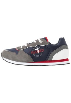 Trussardi Jeans - Sneakers laag - blue/grey/red