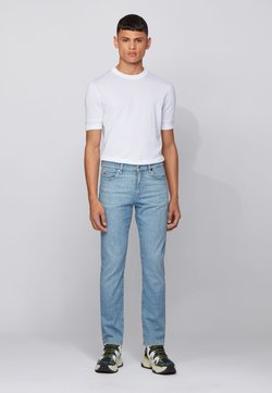 BOSS - Jeans Slim Fit - Turquoise