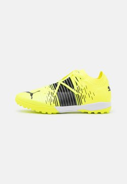 Puma - FUTURE Z 1.1 PRO CAGE - Indoor football boots - yellow alert/black/white