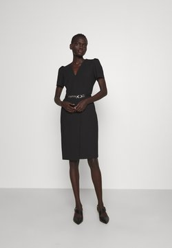 HUGO - KHALESI DOUBLE - Shift dress - black
