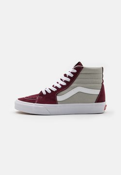 Vans - SK8-HI - Korkeavartiset tennarit - port royale/mineral gray