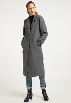 DreiMaster - Klasyczny płaszcz - grau melange