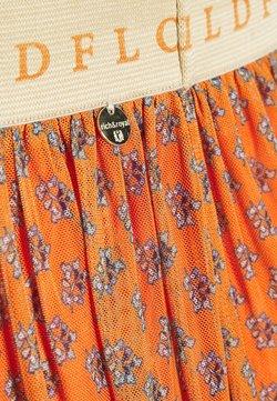 Rich & Royal - SKIRT  - A-Linien-Rock - sunset orange