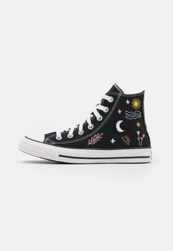 Converse - CHUCK TAYLOR ALL STAR  - Korkeavartiset tennarit - black/white