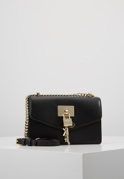 DKNY - ELISSA SHOULDER FLAP - Umhängetasche - black