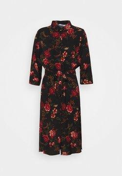 ONLY Petite - ONLNOVA SHIRT DRESS - Vestido camisero - black