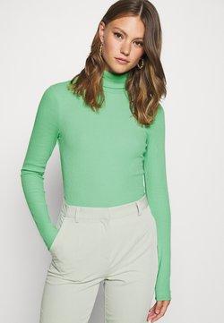 Weekday - VERENA TURTLENECK - Bluzka z długim rękawem - sage green