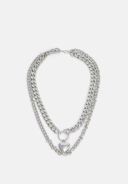 Vintage Supply - NECKLACE UNIEX - Collana - silver-coloured