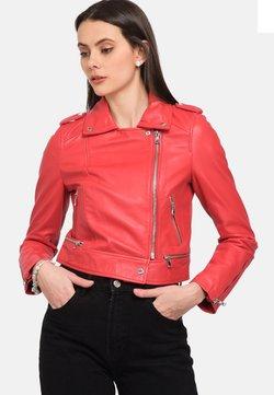 Oakwood - PERFECTO - Leather jacket - red