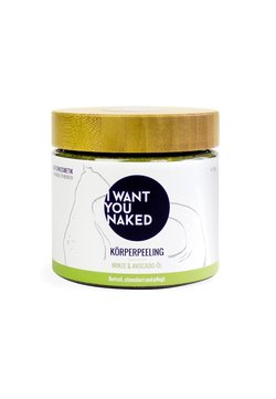 I WANT YOU NAKED - BODY SCRUB 720G - Körperpeeling - minze & avocado-öl