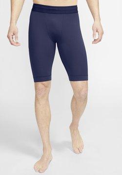 Nike Performance - DRY YOGA - Shorts - midnight navy black