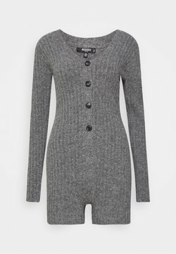 Missguided Petite - LOUNGE COSY  - Combinaison - grey