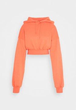 NU-IN - CROPPED HOODIE - Huppari - orange