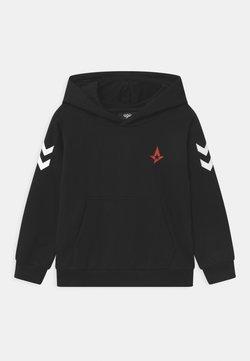 Hummel - ASTRALIS CUATRO HOODIE - Sweater - black
