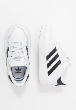 adidas Originals - TEAM COURT - Instappers - footwear white/core black