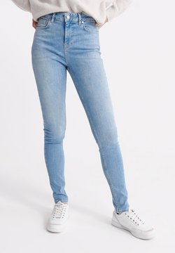 Superdry - HIGH RISE - Jeans Skinny Fit - light indigo vintage