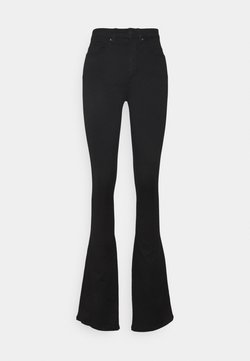 ONLY Tall - ONLROYAL LIFE HIGH SWEET FLARE - Flared Jeans - black
