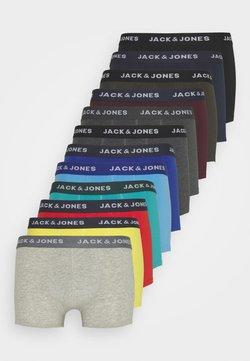 Jack & Jones - JACSOLID TRUNKS 12 PACK - Pants - navy blazer/black/firey red