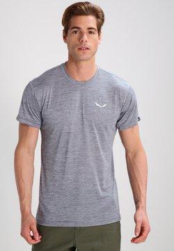 Salewa - PUEZ DRY TEE - T-Shirt basic - quiet shade melange