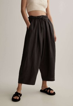 OYSHO - Pantalon classique - dark grey
