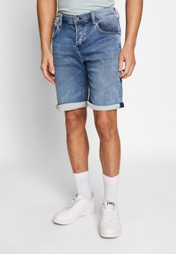 Mustang - CHICAGO  - Jeansshort - blue