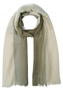 Silvio Tossi - Schal - mehrfarbig gem. foto: olive-braun & beige
