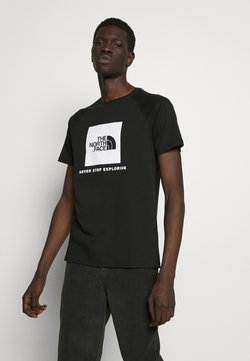The North Face - T-shirt imprimé - black/white