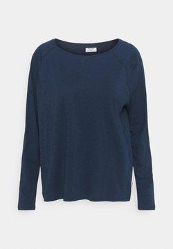 Marc O'Polo DENIM - LONG SLEEVE RAGLAN SLEEVE RELAXED FIT - Pitkähihainen paita - dress blue