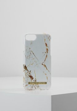 iDeal of Sweden - FASHION CASE MARBLE - Etui na telefon - carrara/gold-coloured