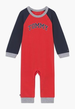 Tommy Hilfiger - BABY COVERALL - Combinaison - red