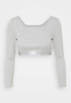 River Island Petite - Camiseta de manga larga - grey