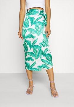 Never Fully Dressed - MULTI USE BANANA LEAF JASPRE - Gonna a tubino - green