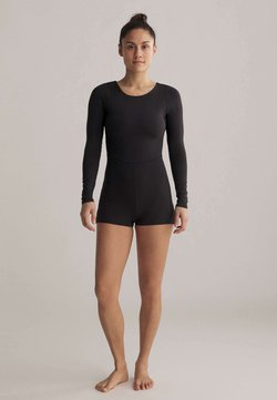 OYSHO - SHORT COMFORT  - Turnanzug - black