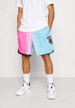 Nike Performance - NBA MIAMI HEAT CITY EDITION SWINGMAN - kurze Sporthose - laser fuchsia/blue gale/black