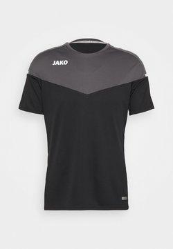 JAKO - CHAMP 2.0 - T-Shirt print - schwarz/anthrazit