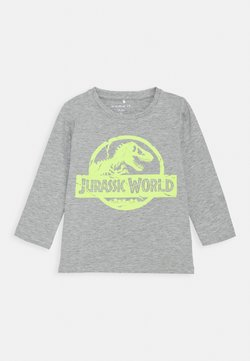 Name it - NMMJURASSIC ARNI - T-shirt print - grey melange