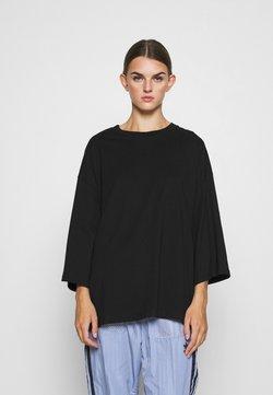 Monki - BILLIE TEE - Maglietta a manica lunga - black