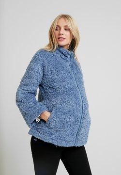 GAP Maternity - FULL ZIP - Chaqueta de invierno - dark blue
