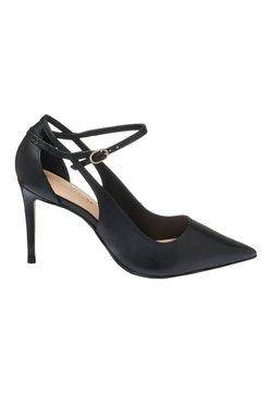 Next - SIGNATURE CUT-OUT COURT SHOES - High Heel Pumps - black