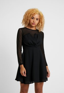 TFNC Petite - VIRGIN DRESS - Cocktail dress / Party dress - black