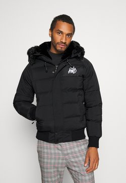 Kings Will Dream - PUFFER BOMBER JACKET - Winterjacke - black