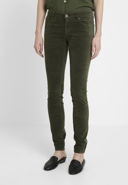 Marc O'Polo - ALBY SLIM - Stoffhose - workers olive