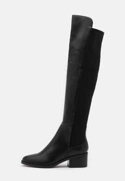 Steve Madden - GRAPHITE - Over-the-knee boots - black paris