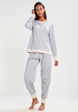 DKNY Intimates - Pyjama set - pale grey heather